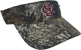 Collegiate Headwear National Cap Camo Visor University of South Carolina Gamecocks