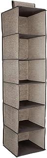 TLMYDD Organisateur de Rangement pour penderie - 30 x 30 x 126 cm - Unité de Rangement pour vêtements Suspendus en Tissu a...
