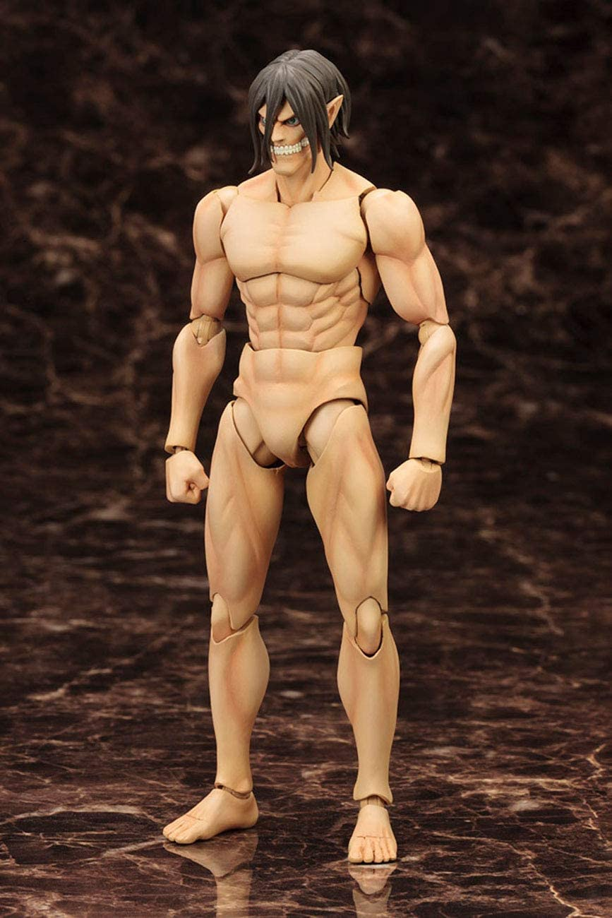 eren titan form model kit Attack On Titan Eren Yeager Titan Version Model Kit: Amazon.de