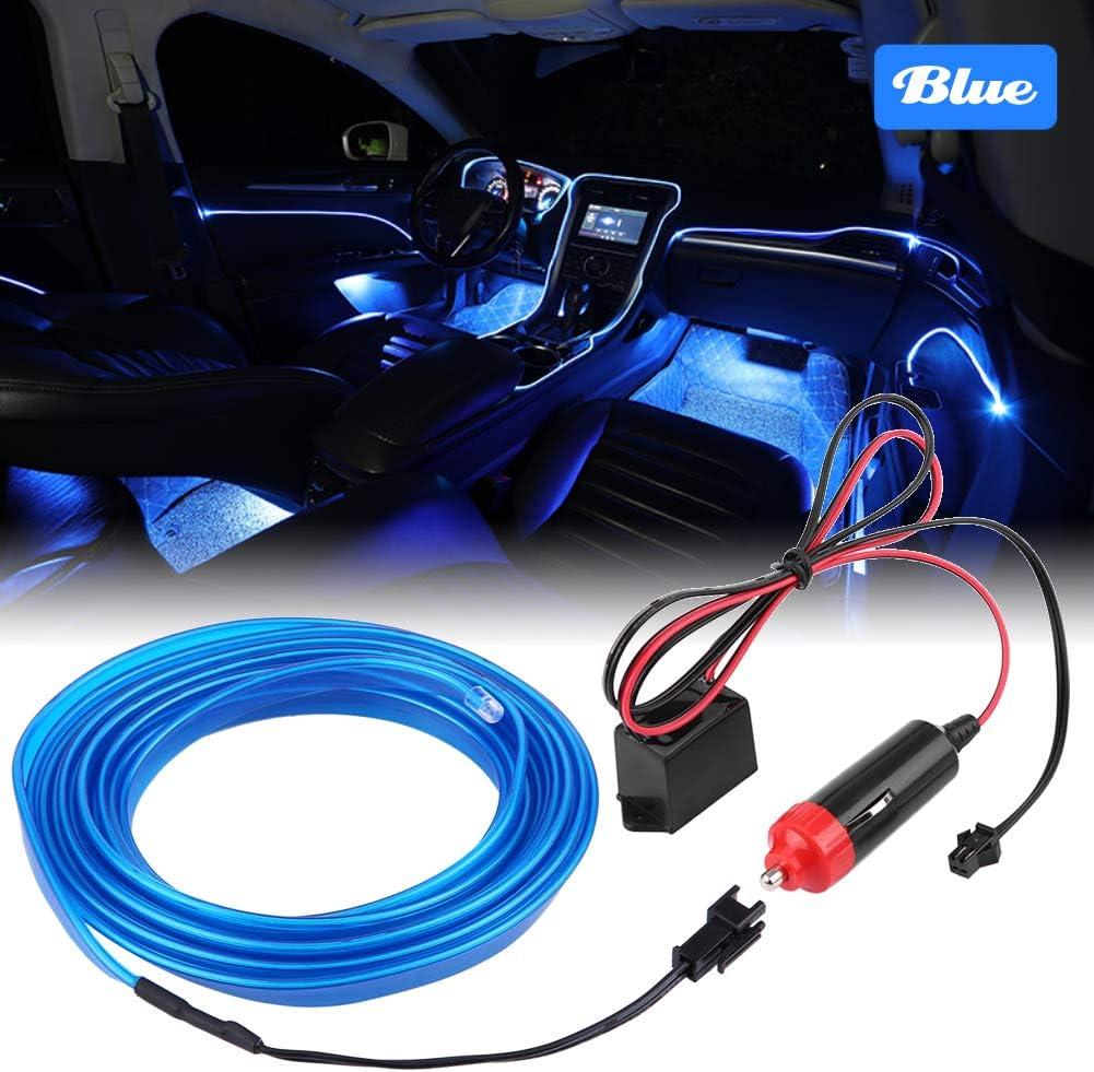 Qiilu 6.5ft Large-scale sale 12V Neon Ranking TOP2 LED Light Ligh Lamp EL Cold Strip OLED