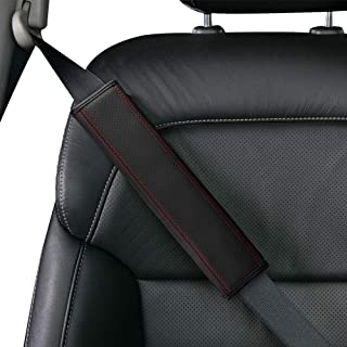 leather seat belt covers