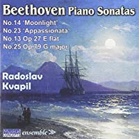 Piano Sonatas: No. 13 No. 14 by RADOSLAV KVAPIL