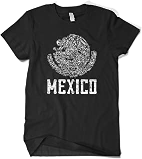 Cybertela Mens Mexico Coat of Arms T-Shirt