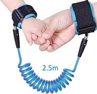 YTYCJSFH Kinder Sicherheitsgeschirr Kinderleine Anti-Verlust-Gliederband Zugseil Anti-Verlust-Armband L/änge 1,5 m