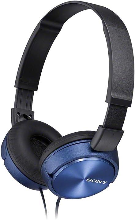 Sony mdr-zx310 - cuffie on-ear, blu