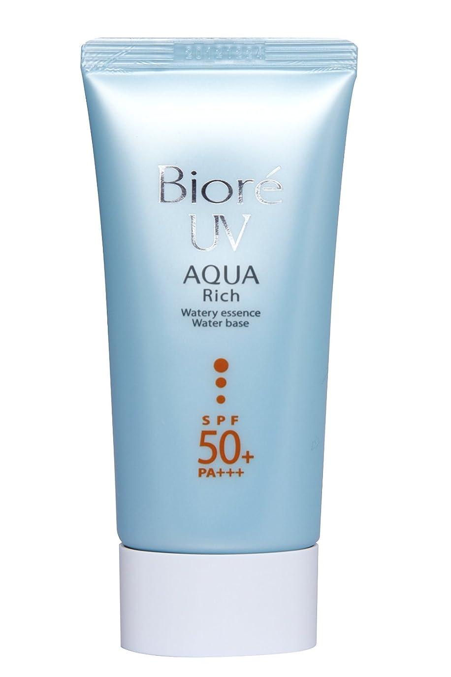慢はっきりと遅滞Biore Uv Aqua Rich Watery Essence spf50?+ / PA + + + 50?ml