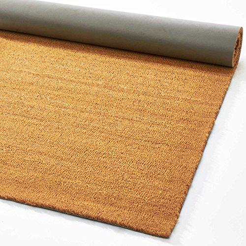 Felpudo de entrada eXtreme® con diseño de fibra de coco natural, 17mm de grosor, 12 tamaños disponibles, 100 x 200 cm