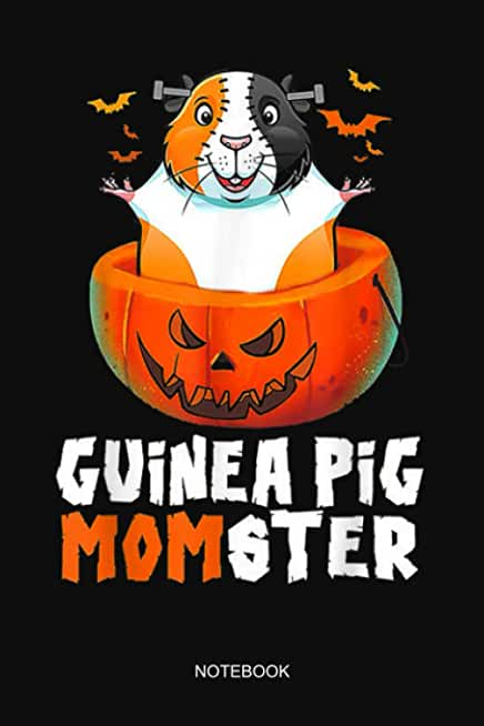 Guinea Pig Momster Pumpkin Monster Halloween Notebook: Notebook Planner, Daily Planner Journal, To Do List Notebook, Daily Organizer