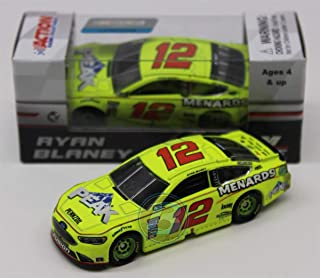 Lionel Racing Ryan Blaney Daytona Can Am Duel #1 Winner 2018 Menards/Peak 1:64