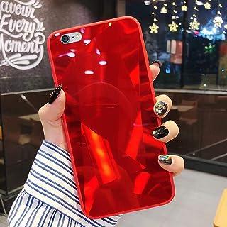 Herbests Compatibel met iPhone 7 / iPhone 8 4.7 hoes spiegel beschermhoes meisjes vrouwen glanzend bling glitter silicone ...