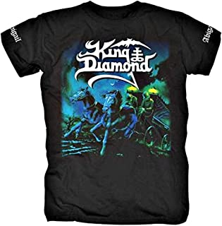 King Diamond Men's Abigail T-Shirt Black