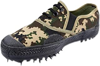 JBHURF Liberation Shoes Low Shoes Camouflage Shoes Shoes Non-Slip Men's Shoes Training Shoes a Pedal Lazy Shoes can be Used as a Field Labor Insurance and Other Outdoor Activities