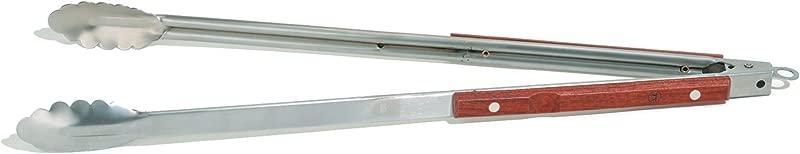 Outset QB22 Rosewood Extra Long Locking Tongs 22