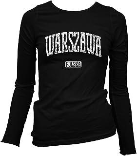 Smash Transit Women's Warsaw Poland Long Sleeve T-Shirt