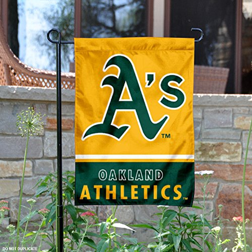WinCraft Oakland Athletics Double Sided Garden Flag
