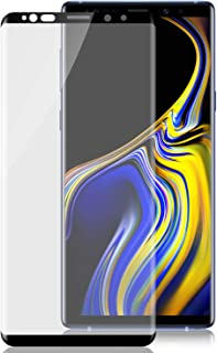 2-Pack HD Galaxy Note 9 Screen Protector,Tempered Glass for Samsung Galaxy Note 9 [3D Full Edge Covered] [9H Hardness] [Anti-Dirty] Case Friendly Glass Protector for Samsung Galaxy Note 9