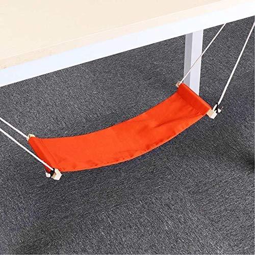 ZHAONAA Peut accueillir Plus de Personnes Pieds de Bureau hamac Passe-Temps Net de Repos en Plein air Sac de Transport Pratique (Color : Orange)