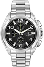 Citizen Men's ECO-Drive Chronograph Watch with Black DIAL CA0271-56E