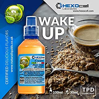 E LIQUID PARA VAPEAR - 30ml Wake Up (Cereales, Café, Leche) Shake