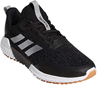 adidas Women's Edge Runner Running Shoes Core Black/Silver Metallic/Carbon 8.5