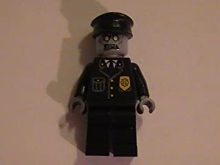 LEGO Zombie Policeman Cop Monster Custom Minifigure