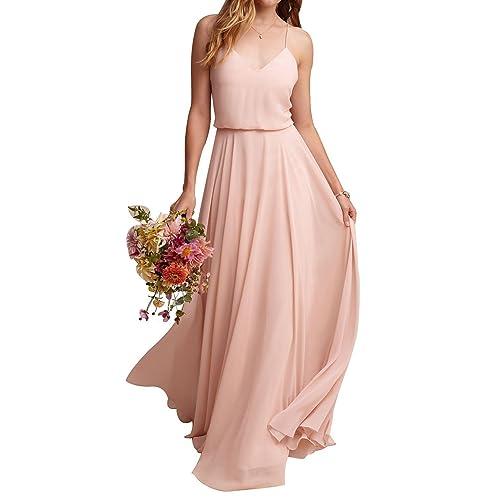 Blush Colored Bridesmaid Dresses