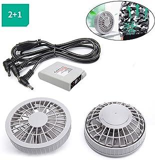 Ventilador de mesa WBTY funciona con pilas, ventilador de mesa eléctrico personal, ventilador de viaje inalámbrico para aire acondicionado, ropa de refrigeración, accesorios con batería de 5200 mAh
