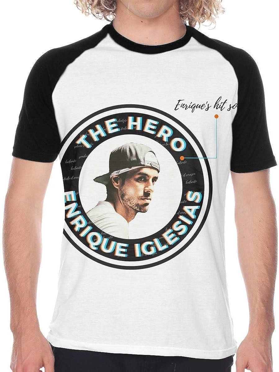 Camisa de Hombre Enrique Iglesias Men Casual Short Sleeve ...