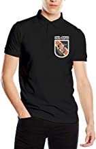 US Army 5th Special Forces Group Men's Classic Golf Shirts Short Sleeve Polo Shirt