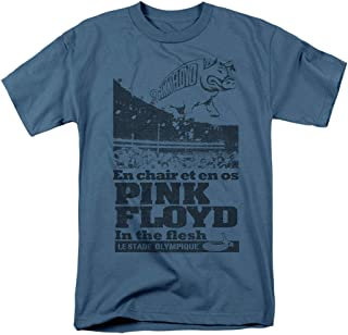 Pink Floyd in The Flesh Live Rock Band T Shirt & Stickers