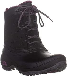 Womens Stormkat Closed Toe Ankle, Black/Amaranth Purple, Size 7.5