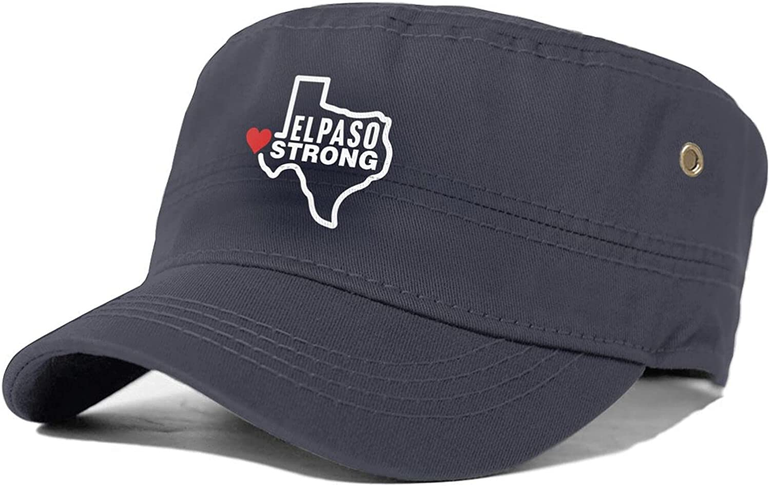 El List price Paso-Strong Unisex Raleigh Mall Adult Flat S Top Military Sun Cap