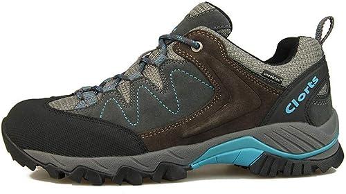 DSX Chaussures de Randonnée pour Hommes Chaussures de Randonnée Imperméables Trekking en Plein Air Chaussures Baskets de Sport Massage étanche, Chaussures de randonnée, 8.5UK