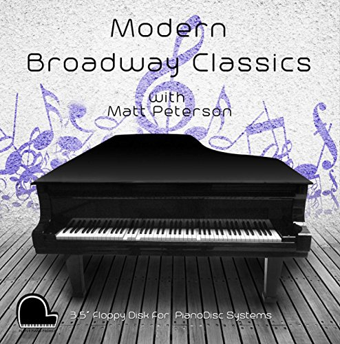 Modern Broadway Classics - PianoDisc Compatible Player Piano Music on 3.5' DD 720k Floppy Disk