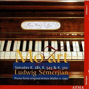 Mozart: Sonates, K. 281, K. 545 & K. 310