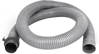 uxcell Plastic Washer Washing Machine Waste Water Drain Hose Pipe 4Ft Gray
