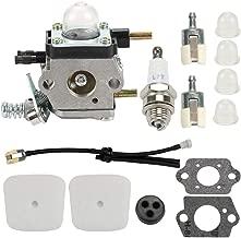 Hayskill C1U-K54A Carburetor for 2-Cycle Mantis 7222 7222E 7222M 7225 7230 7234 7240 7920 7924 Tiller/Cultivator Carb, Echo TC-210 TC-210i TC-2100 with Air Filter Repower Kit