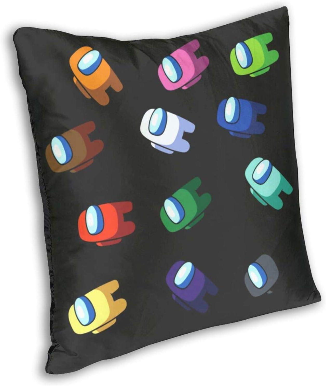 funda de almohada decorativa Funda de almohada de estilo informal 45,7 x 18 pulgadas dos lados suave y cuadrada con cremallera ISHAFQT Imposter Among Us