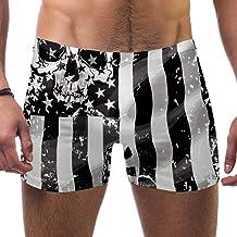 TIZORAX heren zwembroek Short Black American Flag ...