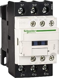 Schneider LC1D32M7 32 A 3P AC3 TeSys AC Coil D Contactor, 220 V, White, Set of 20 Piece
