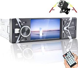 "$69 » Sponsored Ad - CAMECHO Single Din Car Radio 1 Din 4.3"" Screen Bluetooth FM/SD/AUX autoradio with Dual USB Car Multimedia M..."