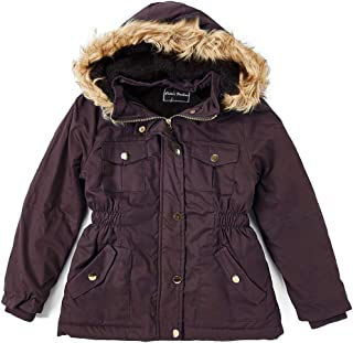 2-7//8 Toddlers and Girls Maria Elena Carrie Owl-Hooded Swing Jacket