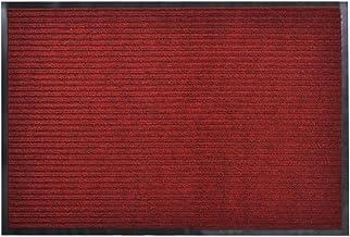 vidaXL Door Mat 90x60cm PVC Red Outdoor Welcome Flooring Entrance Doormat