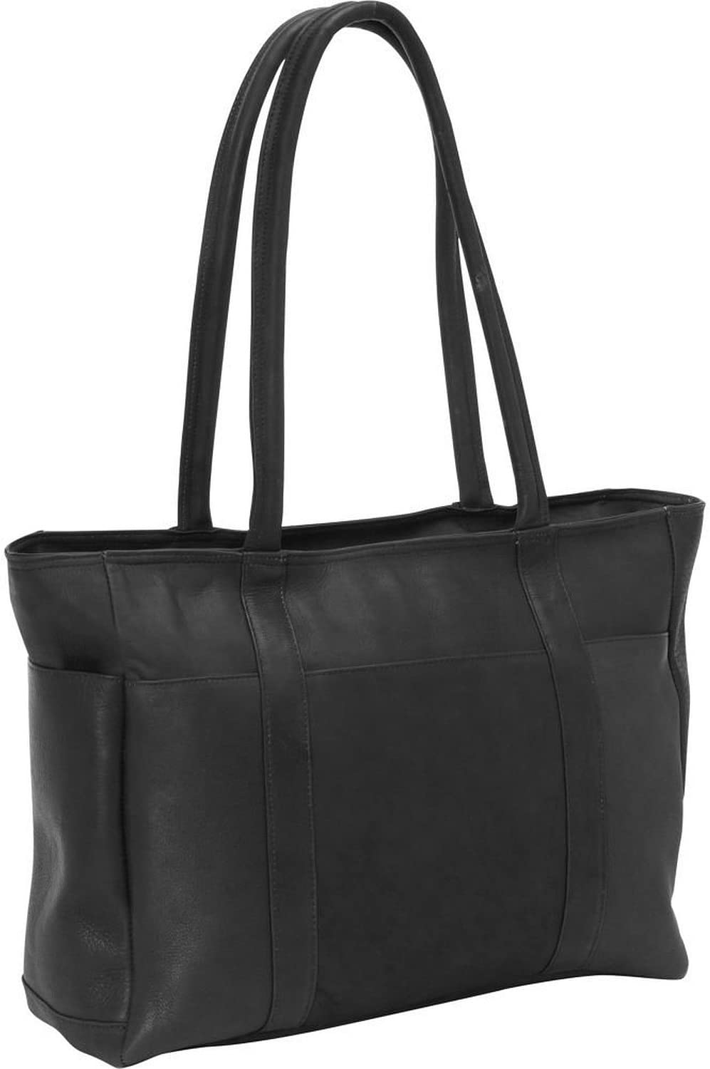David NEW before selling ☆ King Co. Multi Pocket Shopping 574 Size Tote Black One Limited price sale