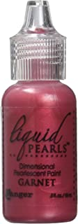 Ranger Liquid Pearls Glue, 0.5 oz, Garnet