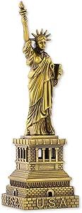 DSstyles Estatua de la Libertad Modelo Estatua de la Libertad Estatua Metálica Estatua de la Libertad Figurita para Recuerdos - 15cm