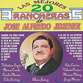 Las Mejores 20 Rancheras de Jose Alfredo Jimenez