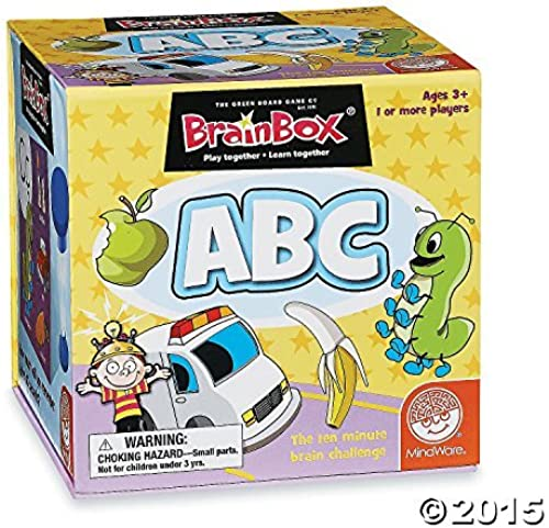 Brain Box  Early Learning  ABC Game by MindWare