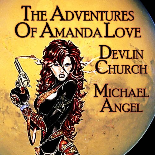 The Adventures of Amanda Love audiobook cover art