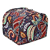 Two Slice Toaster Cover, Kitchen Small Appliance Dust Cover, Bread Toaster Oven Cloth Cover,Kitchen Broiler Organizer Bag, Dust And Fingerprint Protection, Nifty Broiler Appliance Organizer Bag, Big Size 11.5x8x8Inches